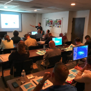 Image of Jim Teaching Color Management