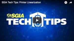 Image of SGIA Tech Tip