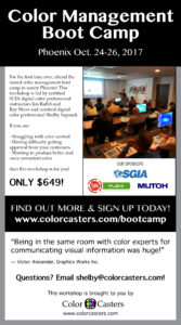 Color Management Boot Camp: Become a Certified Digital Color Professional