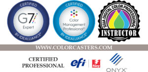 ColorCasters is Getting Certifiable for our Customers