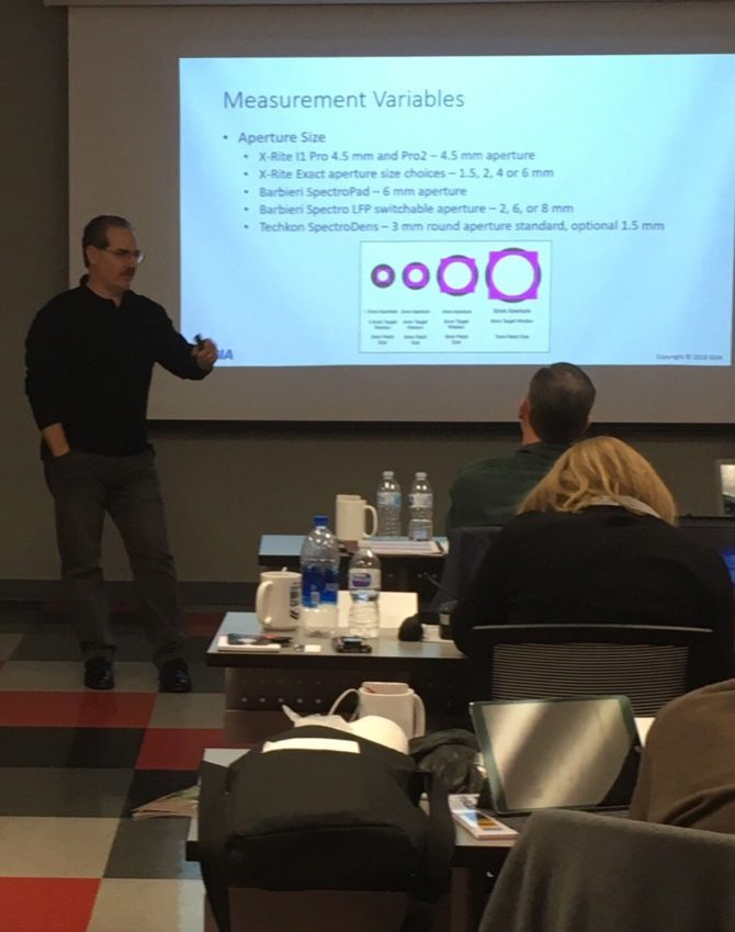 Image of color management boot camp software