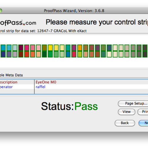 Image of ProofPass Pro/G7 Measure