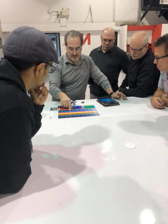 image of nutec digital ink miami color management boot camp