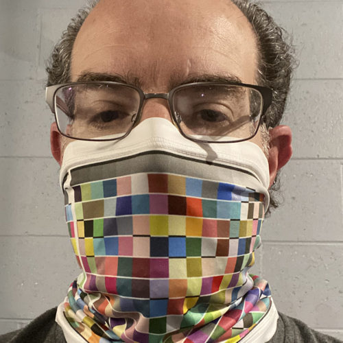 Image of ChorMasks Gaiter Style Face Covering Color Chart Design