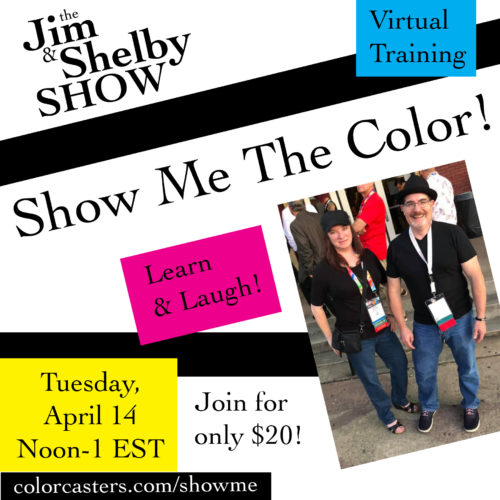 Image of the Jim & Shelby Show Show Me The Color
