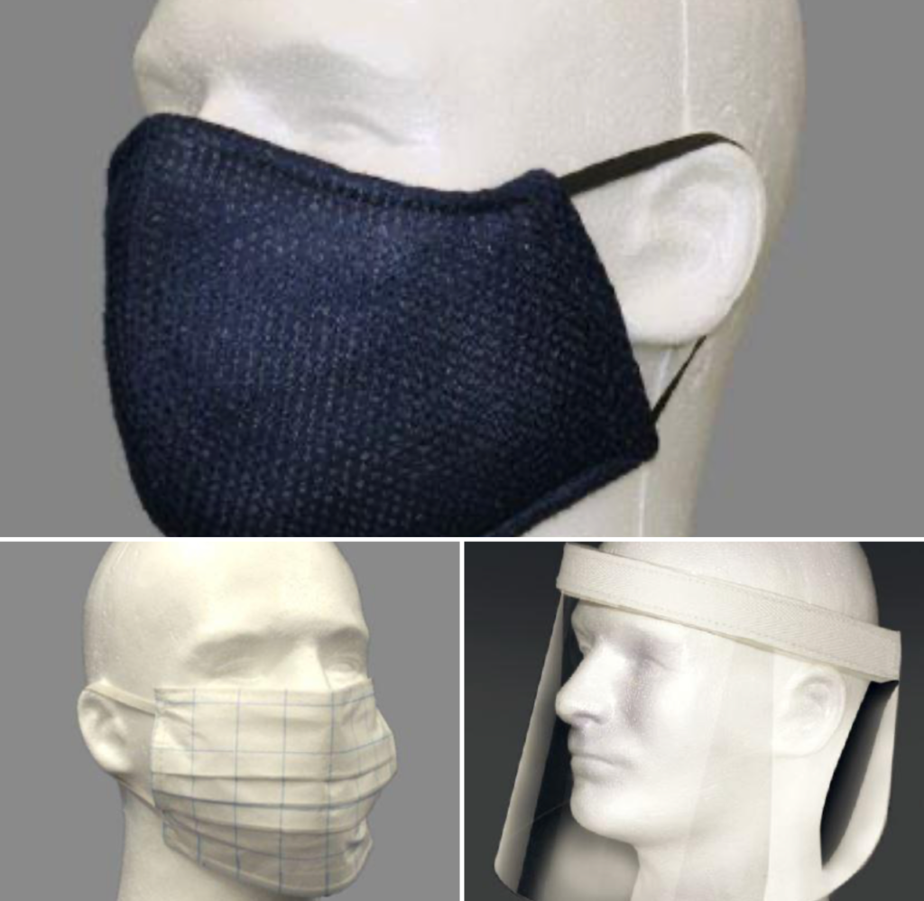 Image of Olympus Group Face Shields and Masks