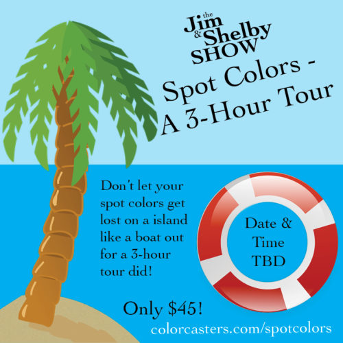 Image of Spot Colors Island Graphic