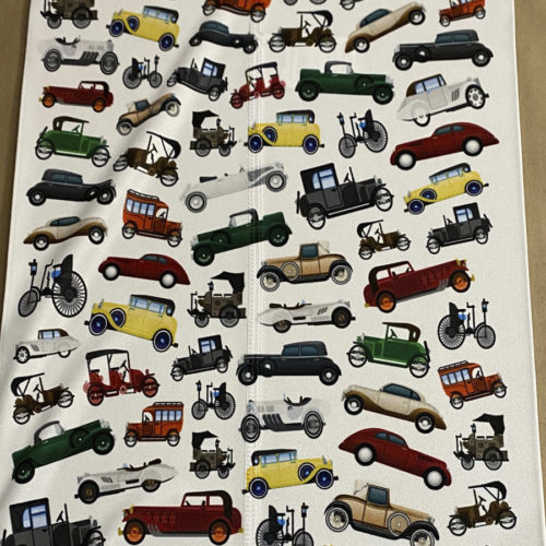 Image of ChroMasks Gaiter Face Coverings Classic Cars Design