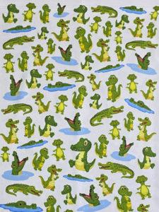 Image of ChroMasks Gaiter style face coverings gators design