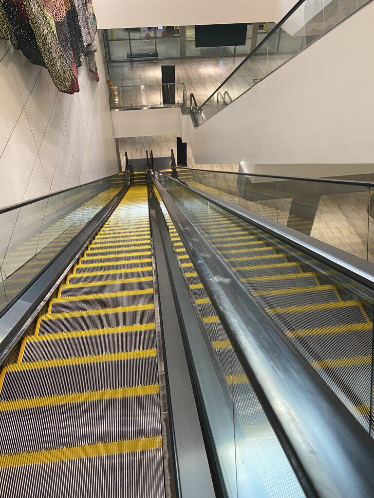 Image of Tampa Airport Escalator